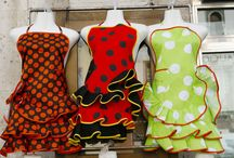 Dishcloths, Wash Cloths, Aprons, Pot Holders, Hot Pads, Tea Towels, Etc. / Handy in the Kitchen / by Freda McCarty
