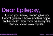 Epilepsy  / by Kimberly Smith