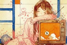 uyuyan anime karakterleri