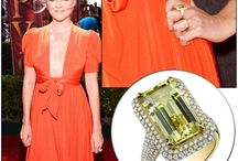 Celebrity Jewelry & Engagements / Spotted celebrities with jewelry from our lines and engagement rings.