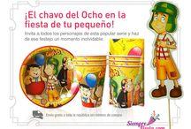Fiesta del Chavo del 8 / Ideas y artículos para una fiesta de cumpleaños de el Chavo del Ocho.