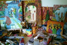 My passion- My Paintings- Mystic Canvas