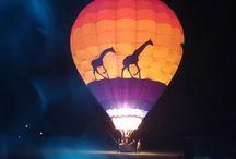 <3 Hot Air Balloons / Beautiful scenery from and of Hot Air Balloons. / by Tamara Shanks