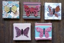 Ceramic / butterfly