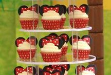 Minnie mouse birthday party theme