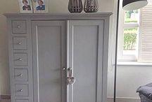 krijtverf meubels / www.boodstyling.com