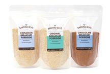 Banting Blvd Porridges / Serving suggestions for Banting Blvd's Original, Chocolate and Cinnamon Porridges