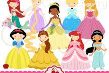 Art & Doodles - Disney - Princesses