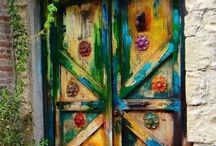 Doors / Because you never know what story or life is behind the doors