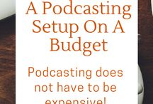 Podcasting / Check out these pins to learn how to start, grow, and profit off of a podcast!