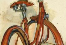 Bicycle Art / Bicycles represented in artworks of all kinds.