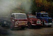 Gamle Lastebiler / Gamle Lastebiler, Kranbiler, Tankbiler osv....