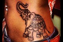 Elefántos Tetoválások