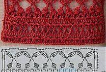 models crochet lace