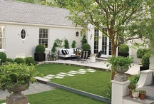 Outdoor spaces / by Tessa Davis