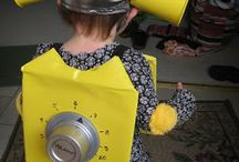 Robot Costume for Halloween / by Jerald Locke