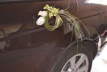 decoración coche novio