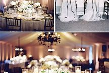 Black & White Theme Wedding