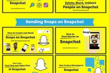 Snapchat for Bloggers / Get the most out of Snapchat. Pins here will include tips and tricks on how to use Snapchat to its full potential. Great for online influencers and bloggers.