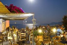 Enetiko Cafe Cocktail Bar / Cafe, Cocktail Bar in Monemvasia Peloponnese Greece.Breathtaking view of the Castle and the Sea. Signature cocktails by the World Champion - owner Panos Govatsos.