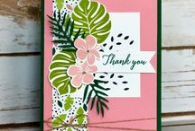 Stampin' Up Tropical 2018