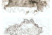 Kreslené budovy