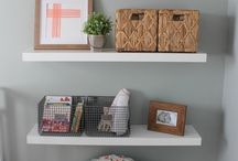 Small spaces/ledges