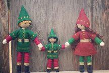 Kindness dolls for Christmas DIY