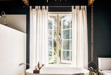Bathroom Ideas: The Naturalist / Make your home a sanctuary by bringing nature indoors with minimal furniture, organic shapes, soft timbers, texture and foliage.