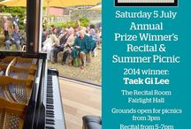 Summer Reictal 2014 / Hastings International Piano Concerto Competition presents The Annual Prize Winner's Recital and Summer Picnic, with this year's Winner Taek Gi Lee. Fairlight Hall, July 5th 2014 3pm.