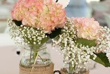 Bruiloft Kirsten / Decoratie tafel