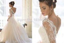 wedding dress board