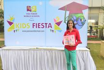 Kids Painting Competition / The Paras World School India organized the Kids Painting Competition. Parents and children alike had frolic through many fun & interactive activities at the fiesta.