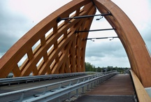 {Architecture} Wooden Bridges / Bridges made from or using wood, including Accoya