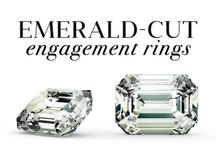 Emerald Cut Engagement Rings / One of the most popular engagement rings amongst the celebrities. Beyonce´, Kate Hudson, Angelina Jolie, Kim Kardashian, Anne Hathaway, Amal Clooney, Victoria Beckham, and Gwyneth Paltrow all said I do to the emerald cut diamond.   / by Ice.com