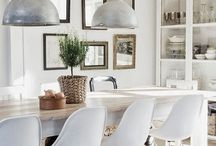 Midcentury Industrial Coastal Farmhouse / Finding my style, one room at a time...