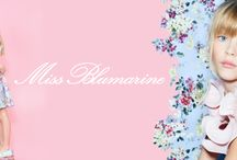 MISS BLUMARINE SS16 / Miss Blumarine Girls line features embroidered tulle with hearts and Lurex threads, t-shirts printed with baroque frames, fur-stitch sweaters with gold and ecru glow, and Swarovski pearl decorations and gold micro-studs.