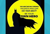 marvel & DC quotes