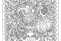 ★ Start coloring ★ / Relax and clear your mind.