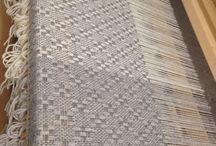 Räsymatto & kudonta / Weaving & rag rug / Itse tehdyt räsymatot ja villashaalit