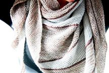 Necks and shoulders / Scarves, shawls, and cowls / by Cristina Peralta