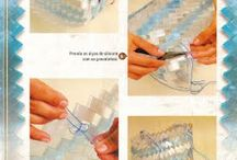 Plastic geantă