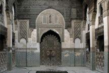SAHRIJ MADERSA, FES / ISLAMIC ARCHITECTURE IN FES MOROCCO