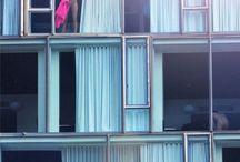 Exhibitionist/voyeur architecture