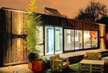 Shipping Container Homes / How to Build a Shipping Container Home - Single Shipping Container Home - Shipping Container Cabins - Recycled Shipping Container Ideas - Eco-friendly Container Homes