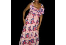 African dresses / Dresses made from African prints