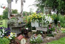 outside gardening ideas / so wish i had the space for some of these