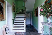 Entrance, stairs, landings