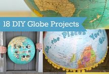Globes / by Kayla Shepard