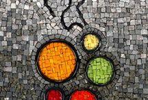 Abstrakt mozaiek